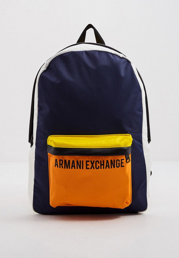мужской рюкзак armani exchange, разноцветный