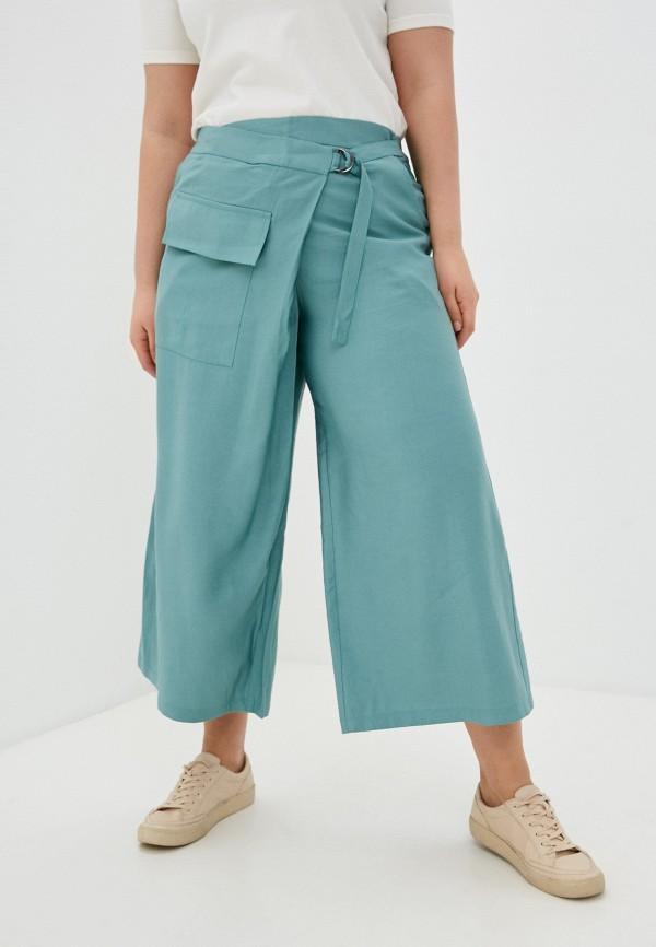 женские брюки клеш nataliy beate, зеленые