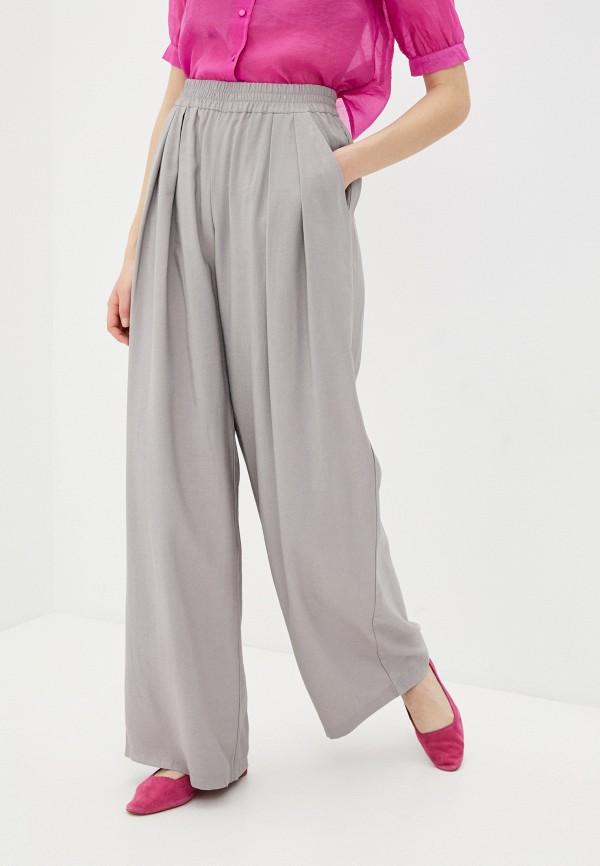 женские прямые брюки nataliy beate, серые