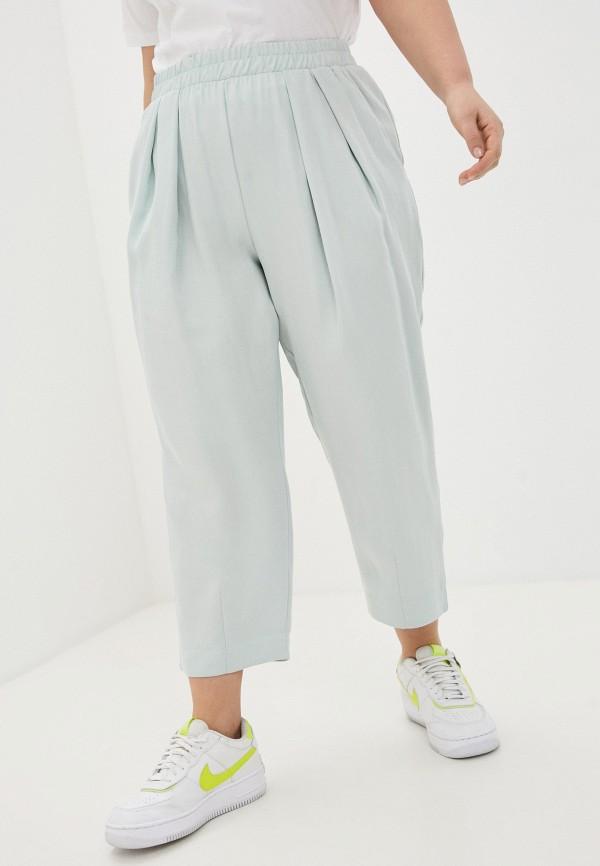 женские брюки джоггеры nataliy beate, бирюзовые