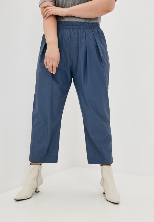 женские брюки клеш nataliy beate, синие