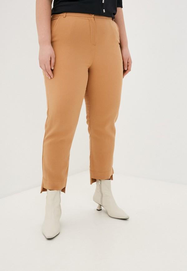 женские классические брюки nataliy beate, бежевые