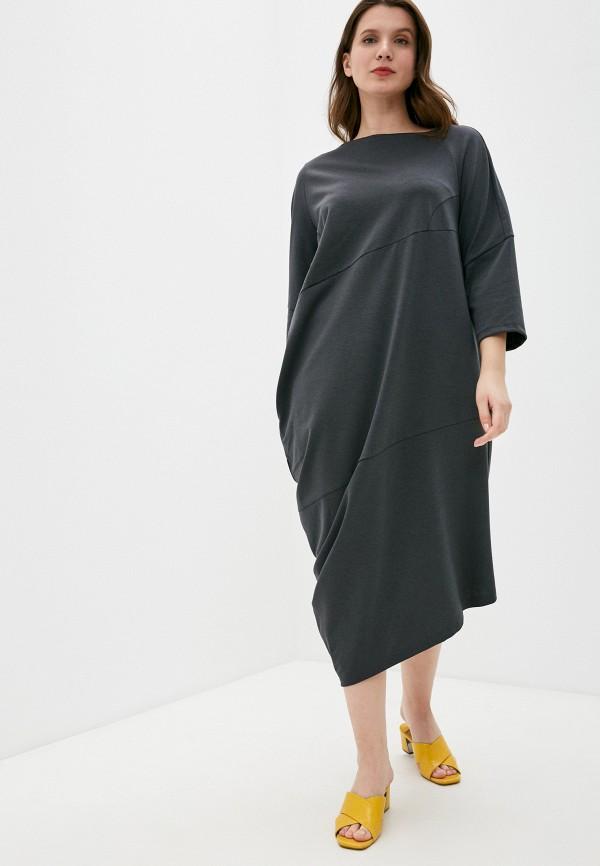 женское платье nataliy beate, серое