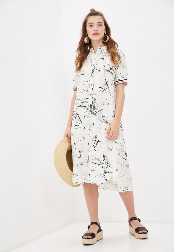 женское платье bulmer, бежевое