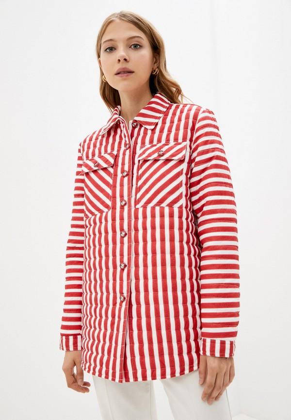 женская утепленные куртка bulmer, красная