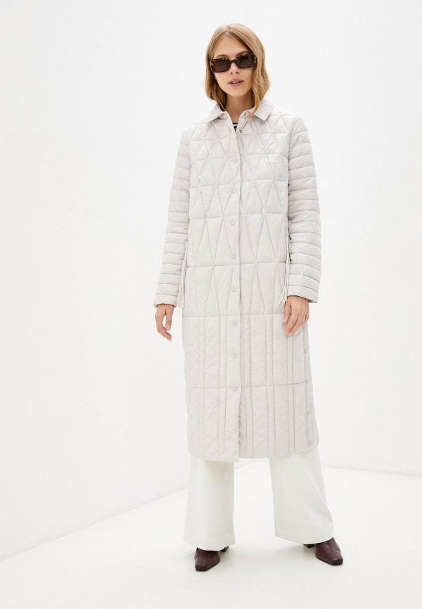 женская утепленные куртка bulmer, бежевая