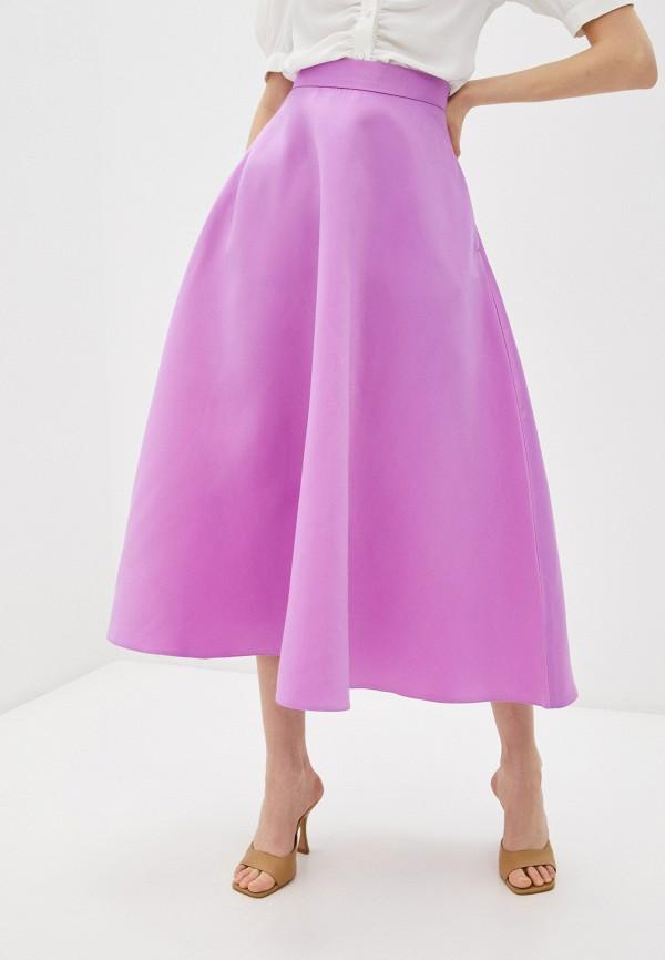 женская юбка-трапеции trendyangel, розовая