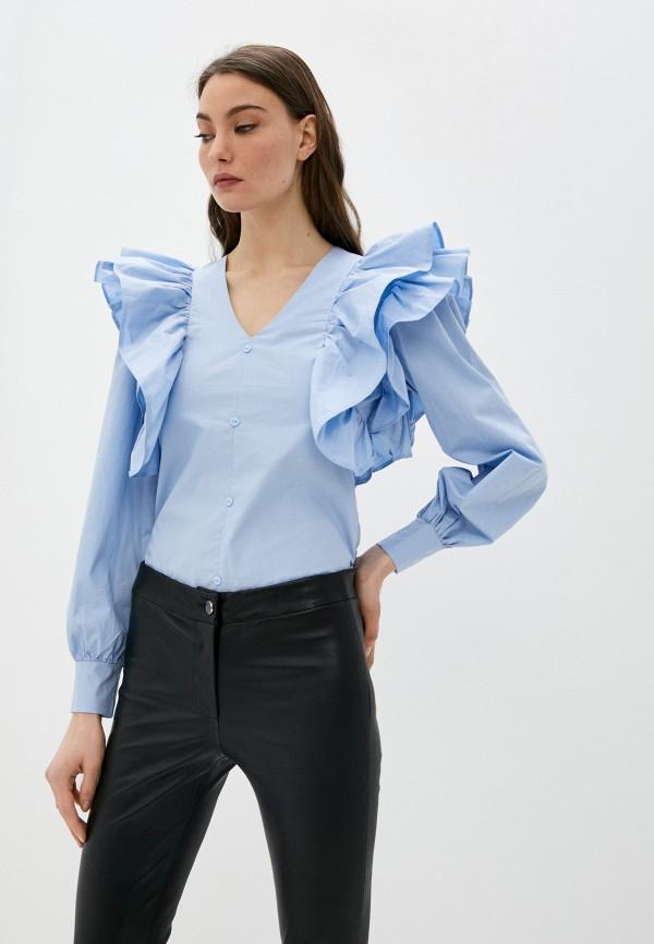 женская блузка trendyangel, голубая