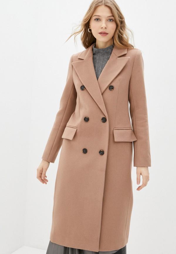 женское пальто trendyangel, бежевое