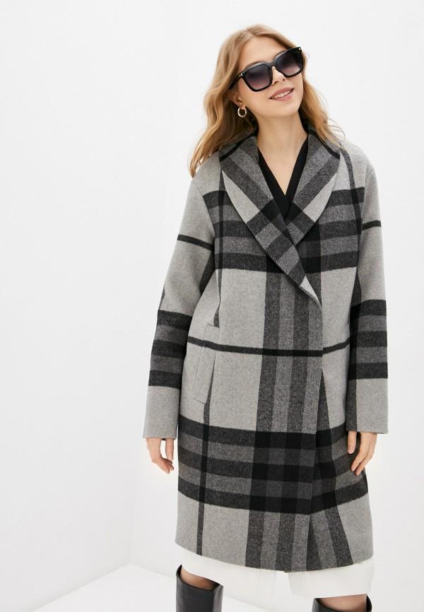 женское двубортные пальто trendyangel, серое