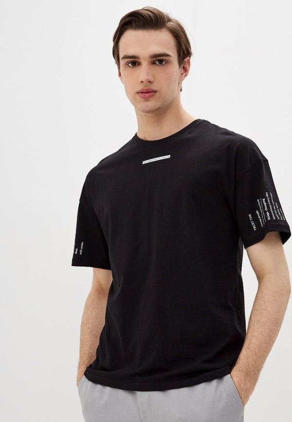 мужская спортивные футболка dali, черная