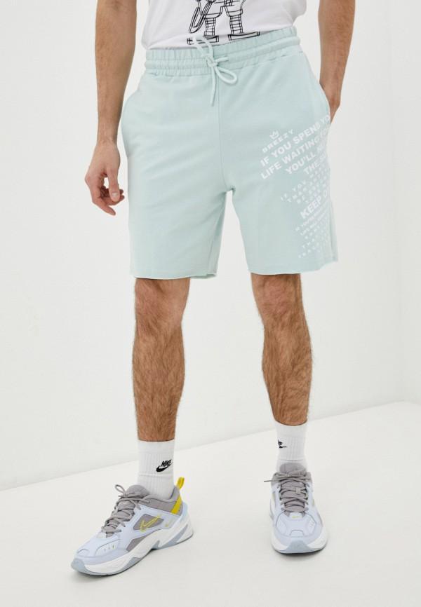 мужские спортивные шорты dali, бирюзовые