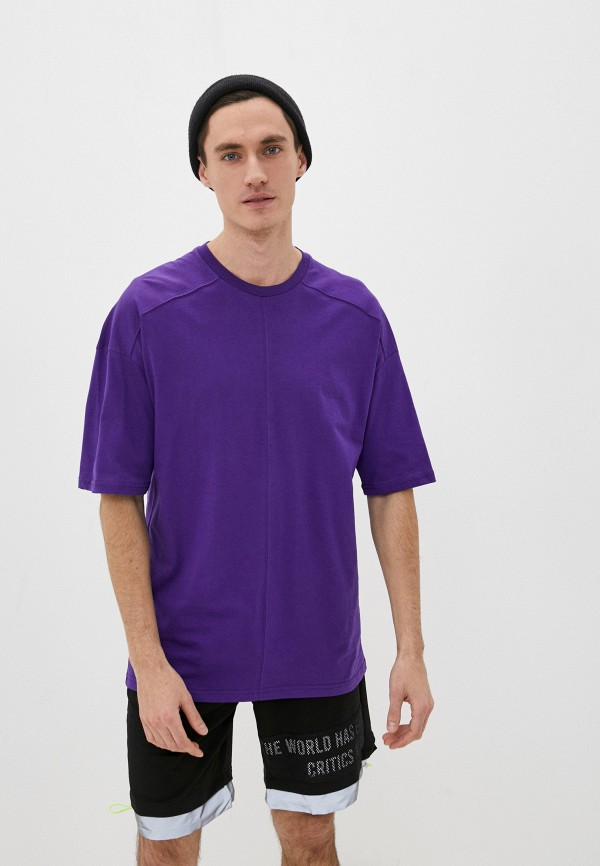 мужская спортивные футболка dali, фиолетовая
