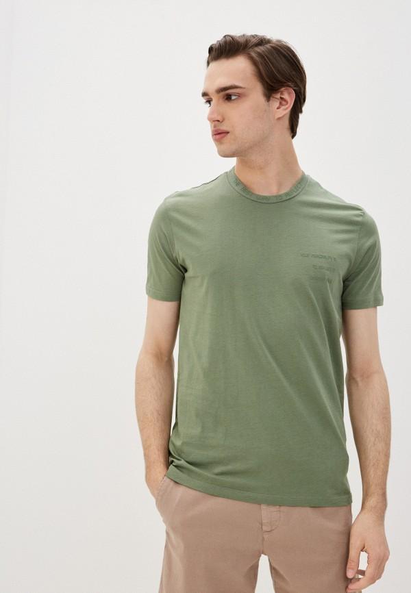 мужская спортивные футболка dali, зеленая