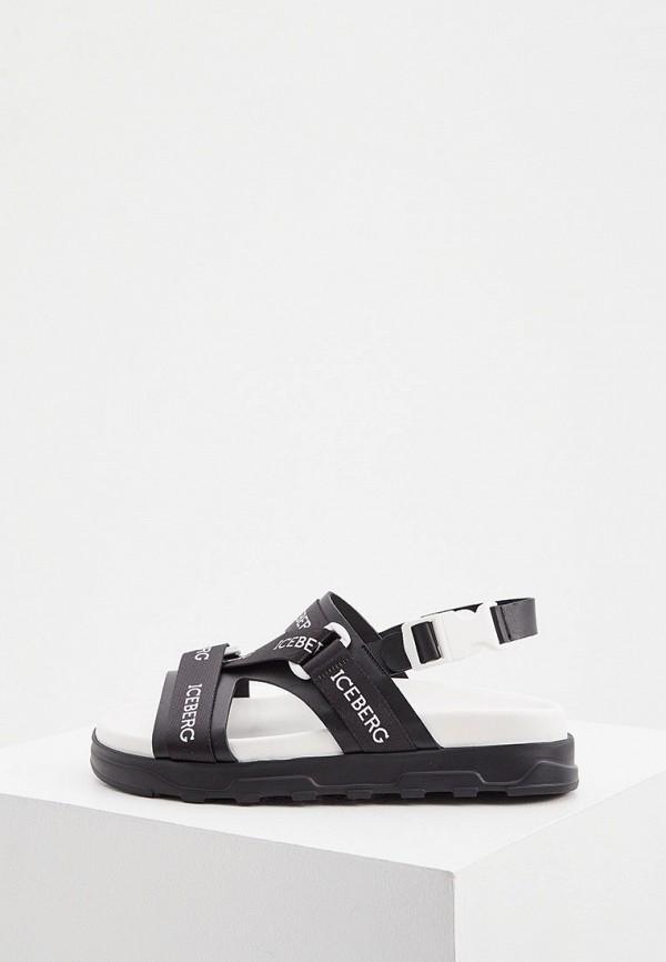 женские сандалии iceberg, черные