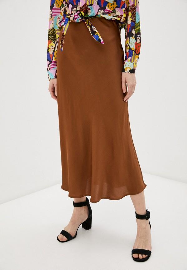женская юбка trendyol, коричневая
