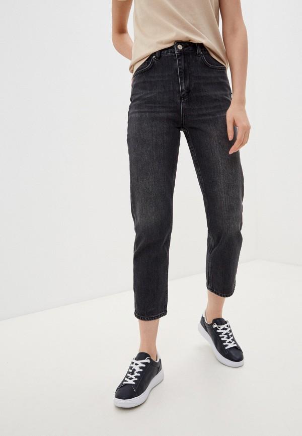 женские прямые джинсы trendyol, серые
