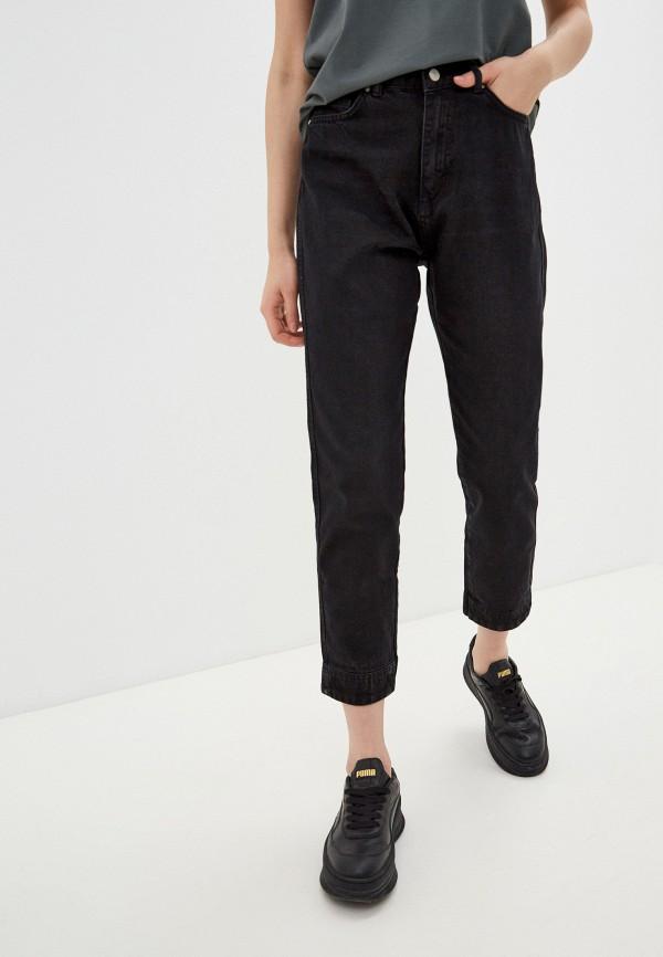 женские прямые джинсы trendyol, черные