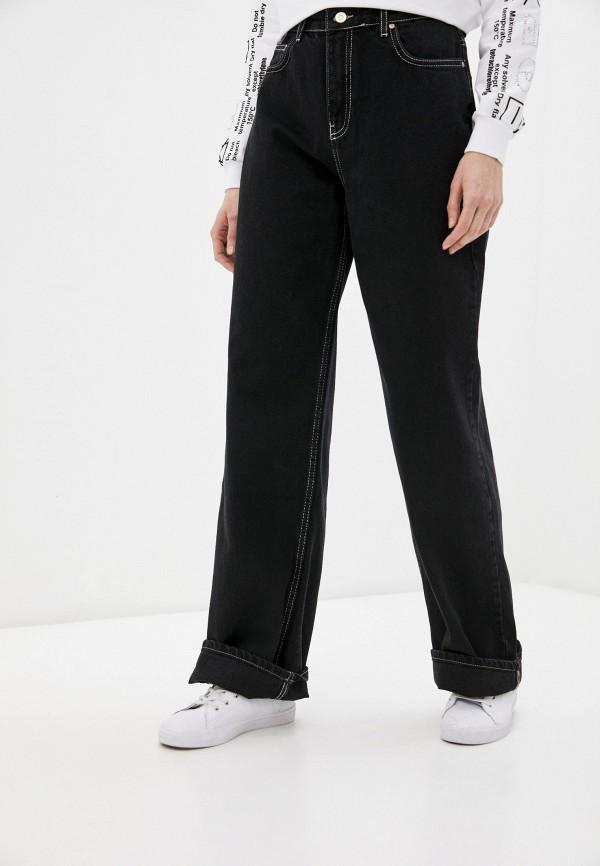 женские джинсы клеш trendyol, черные