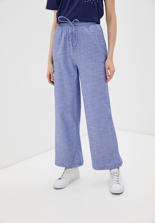женские брюки trendyol, синие