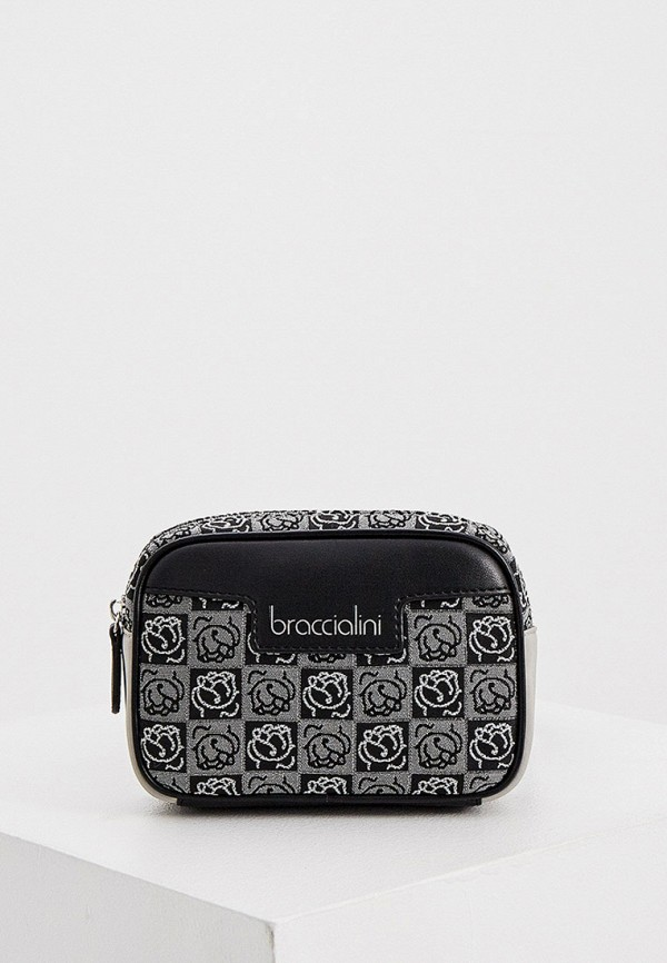 женская поясные сумка braccialini, серая