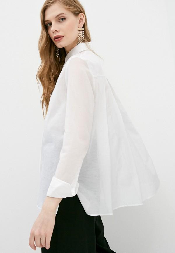 женская рубашка с длинным рукавом the kooples, белая