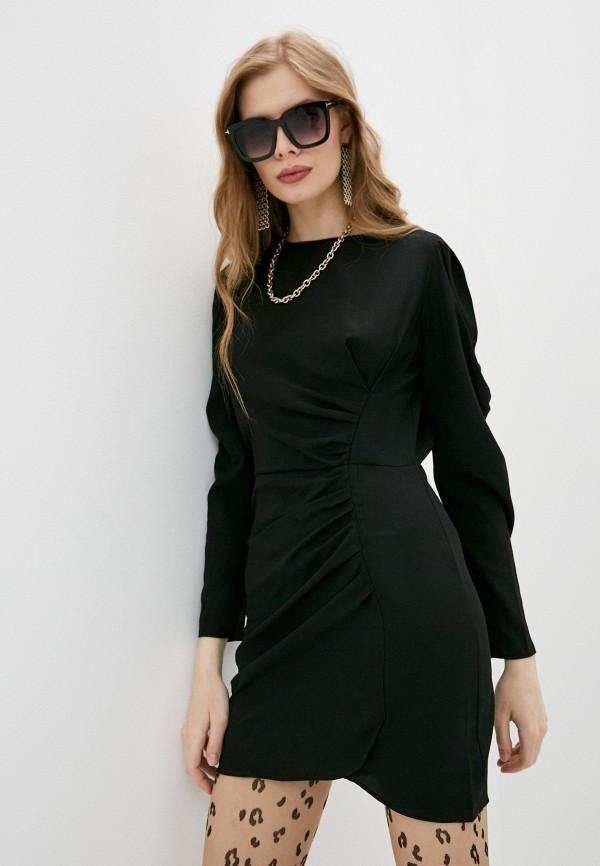 женское вечерние платье the kooples, черное