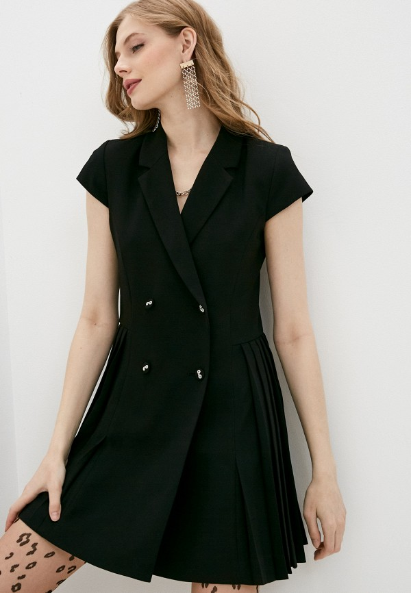женское платье the kooples, черное