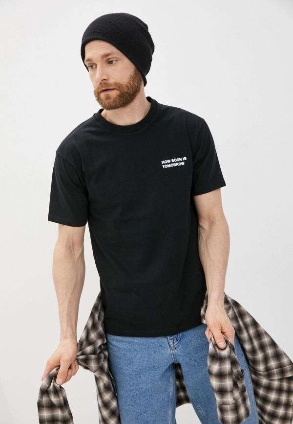 мужская футболка the kooples, черная