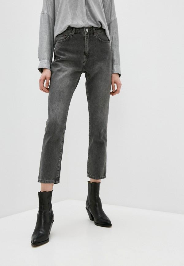 женские джинсы бойфренд french connection, серые