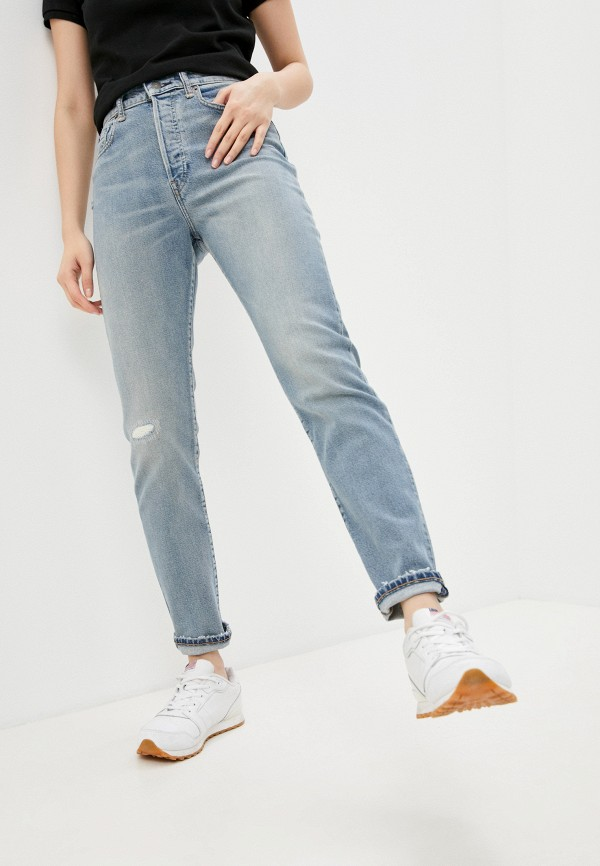 женские джинсы polo ralph lauren, голубые