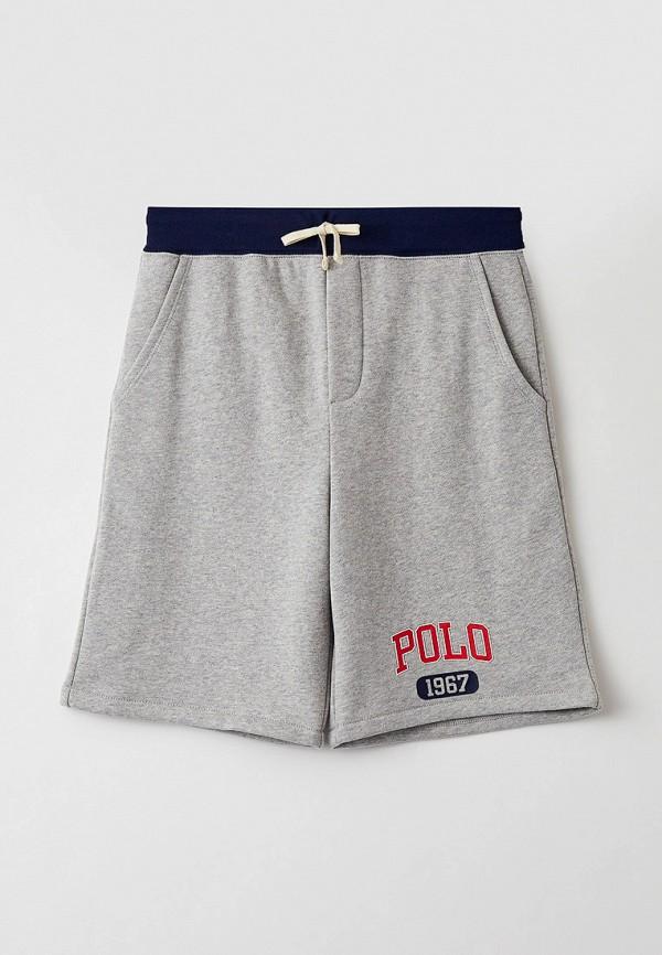 спортивные шорты polo ralph lauren для мальчика, серые