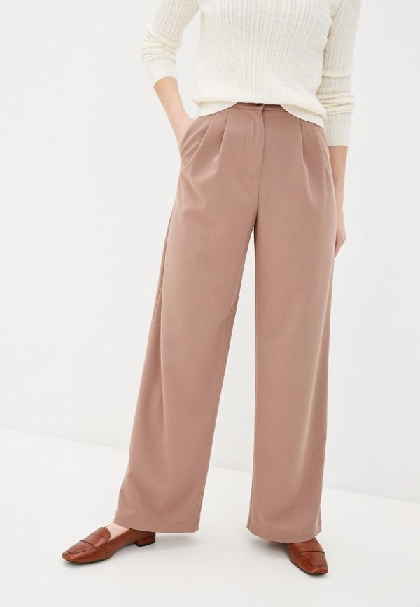 женские повседневные брюки shartrez, коричневые