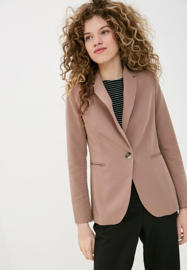 женский пиджак shartrez, коричневый