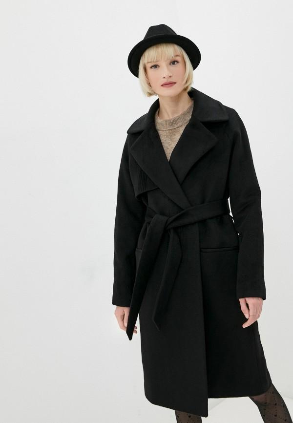 женское пальто 2nd day, черное
