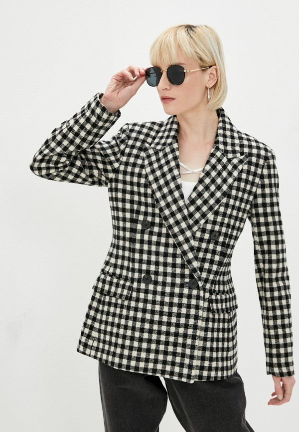 женский пиджак 2nd day, черный