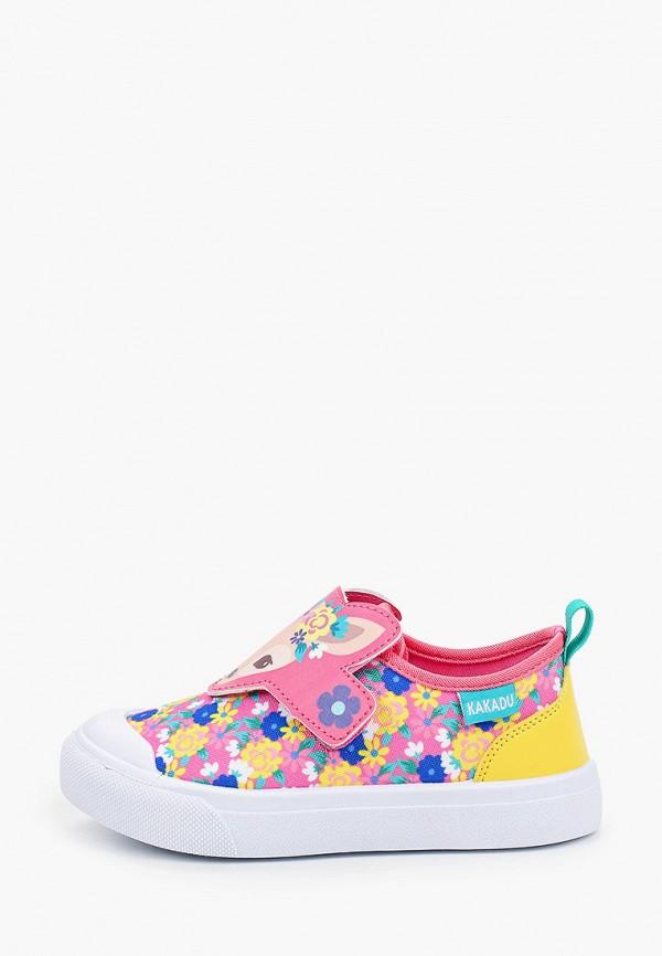 кеды kakadu для девочки, разноцветные