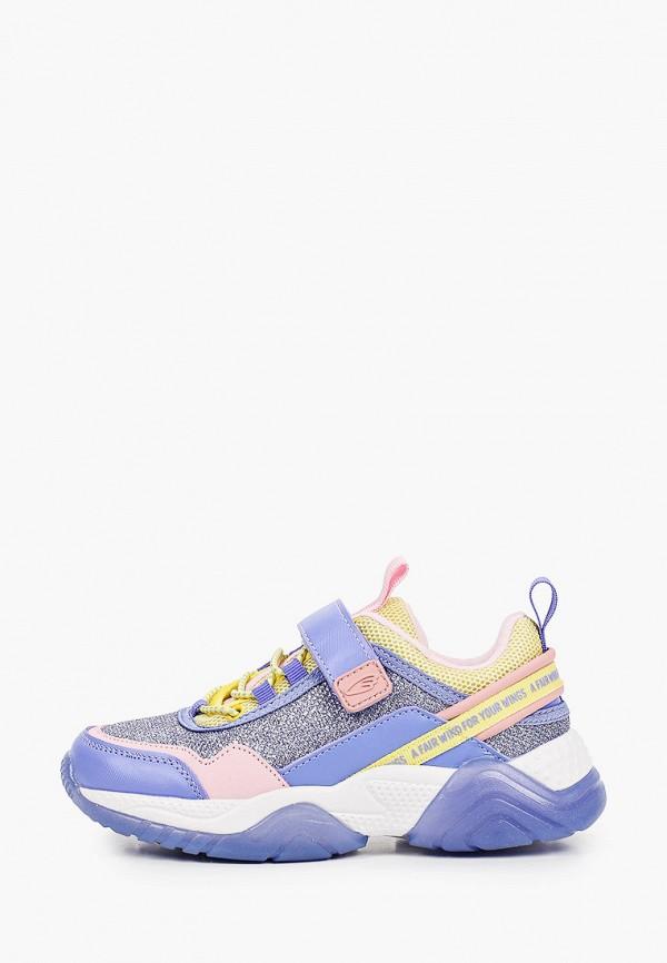 кроссовки kakadu для девочки, фиолетовые