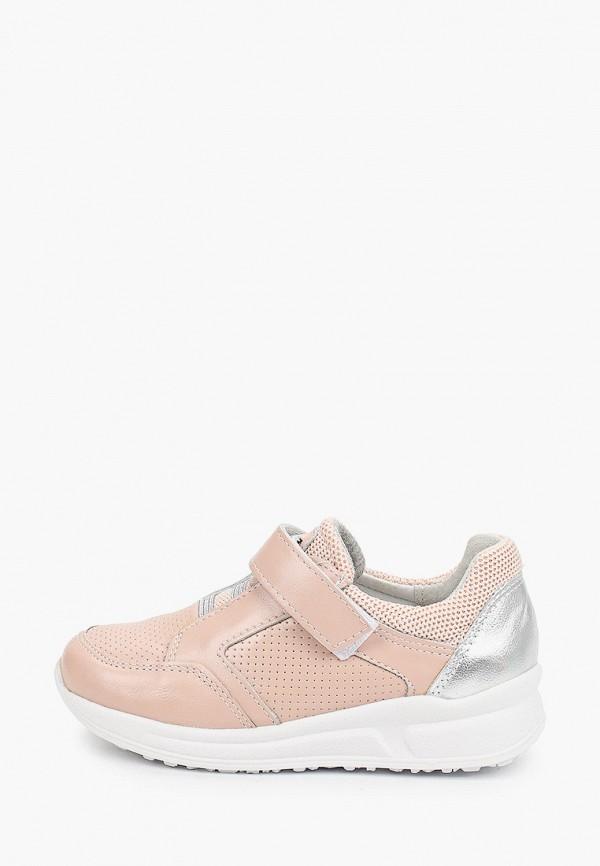 кроссовки юничел для девочки, розовые
