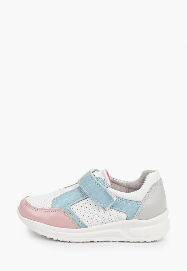 кроссовки юничел для девочки, белые