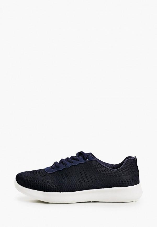 женские низкие кроссовки юничел, синие