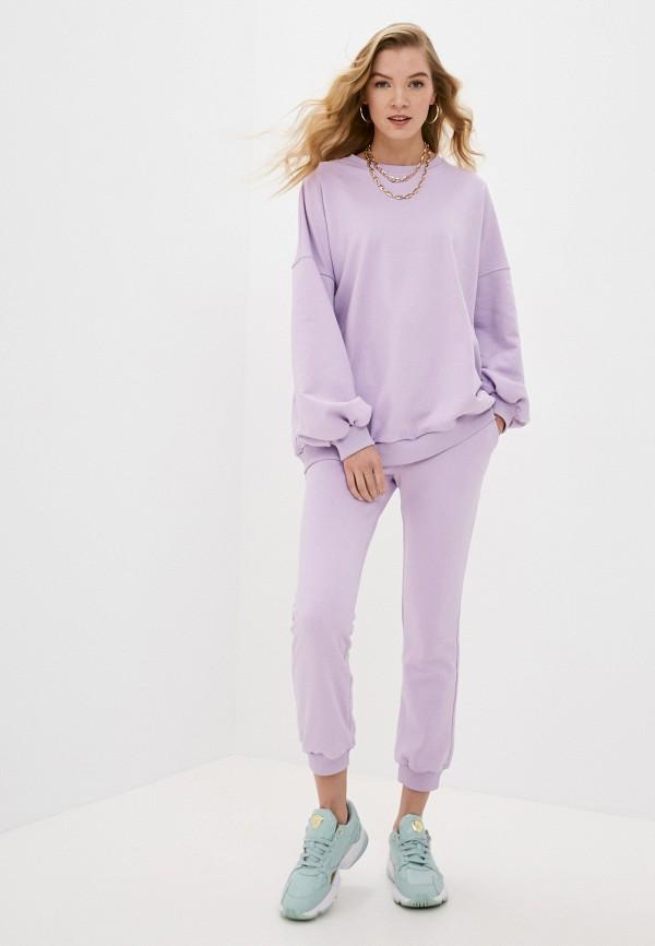 женский спортивный костюм pink frost, фиолетовый