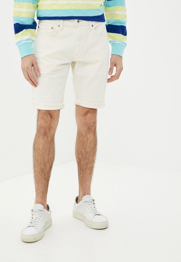 мужские шорты pepe jeans london, бежевые