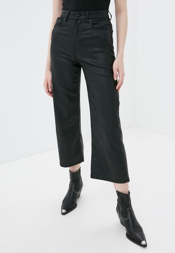 женские брюки pepe jeans london, черные