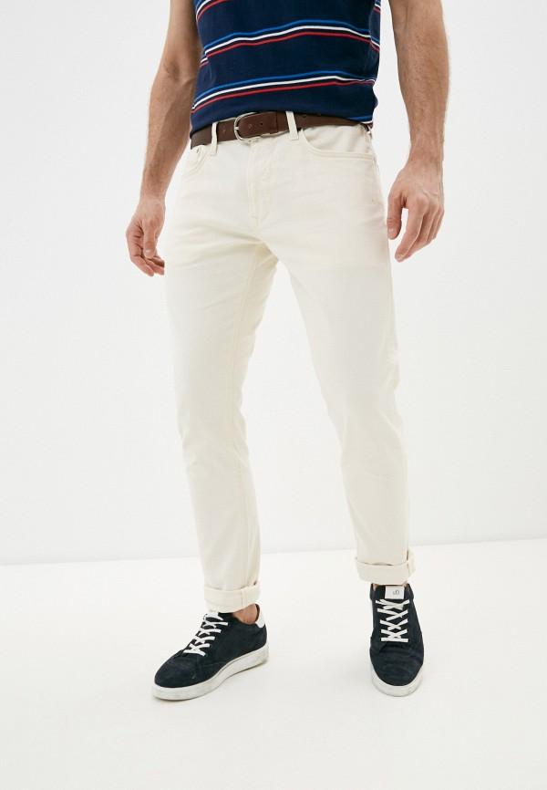 мужские повседневные брюки pepe jeans london, бежевые