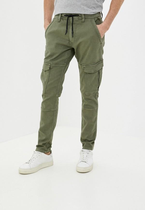 мужские брюки pepe jeans london, хаки