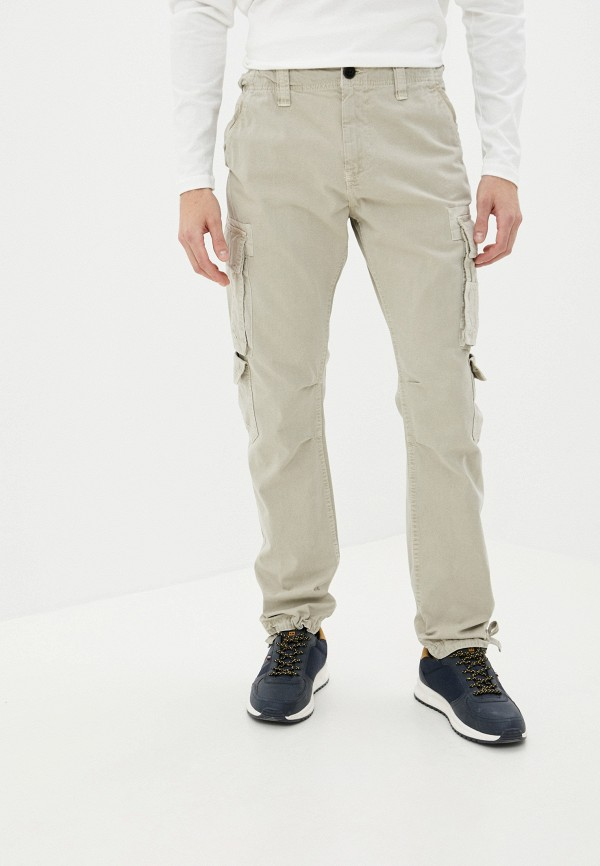 мужские брюки pepe jeans london, бежевые