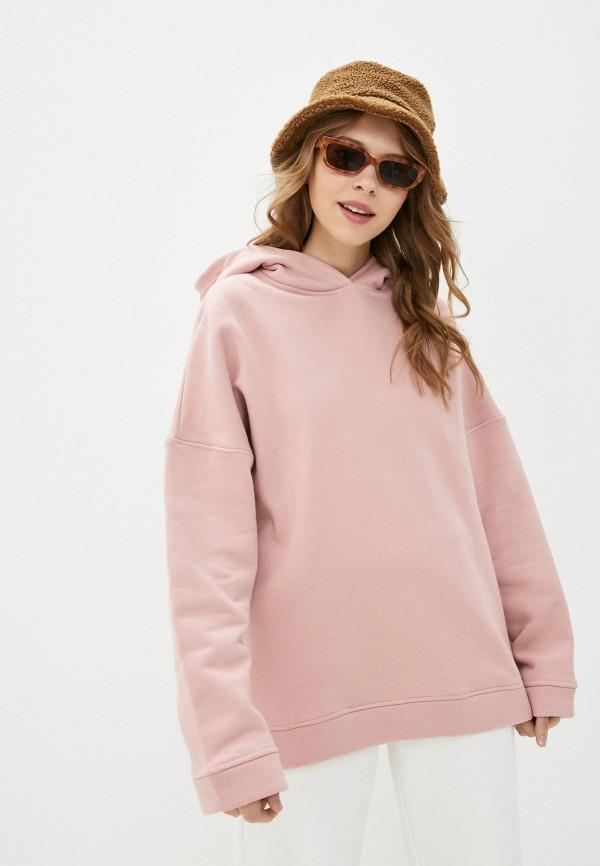 женские худи fridaymonday, розовые