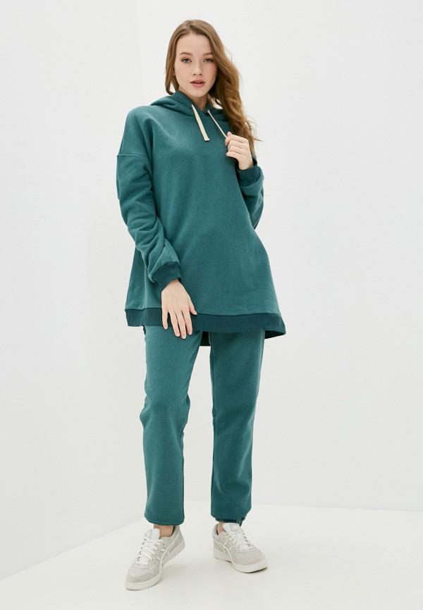 женский спортивный костюм fridaymonday, бирюзовый