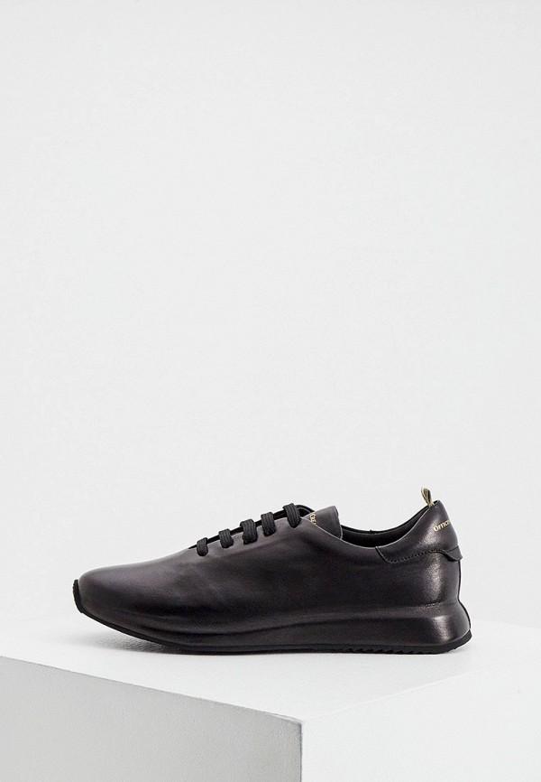 женские кроссовки officine creative, черные